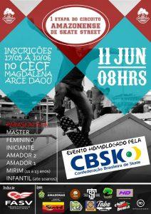 1ª Etapa Circuito Amazonense de Skate Street