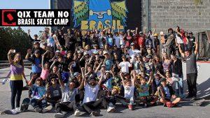 QIX Team no Brasil Skate Camp