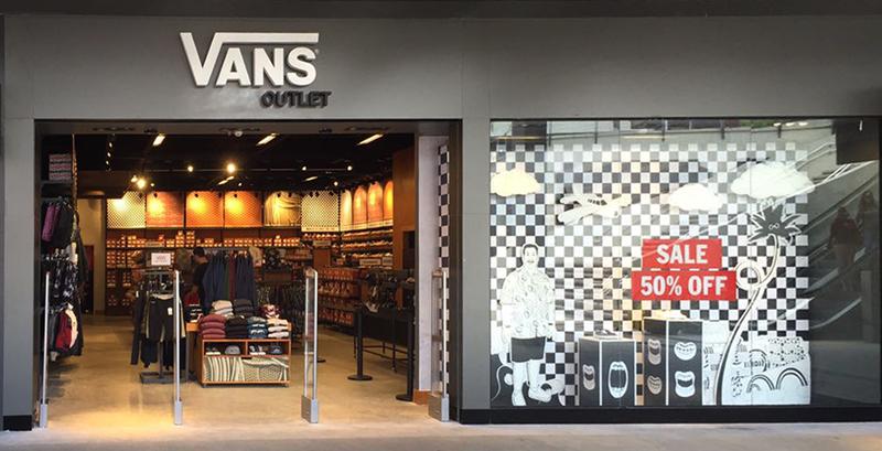 Fachada da nova loja Vans em Duque de Caxias - Foto: Vans